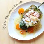 Chiles Rellenos de ensalada de camarones en escabeche: Receta de Cuaresma