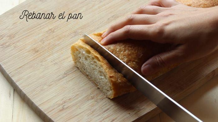 rebanadas de pan para hacer torrejas o torrijas