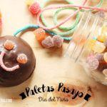 Paletas de Malvavisco con Chocolate para el Día del Niño. Receta + Vídeo