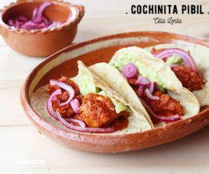 Cochinita Pibil en Olla Lenta o Slow Cooker