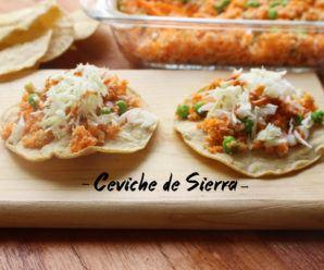Ceviche de Sierra