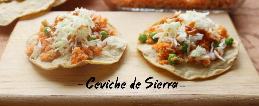 Ceviche de Sierra: Receta Mexicana de Verano