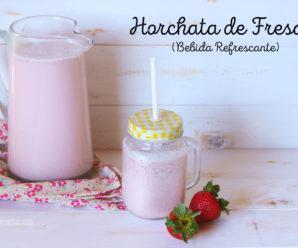 Horchata Arroz con Fresas: Bebida Refrescante Mexicana