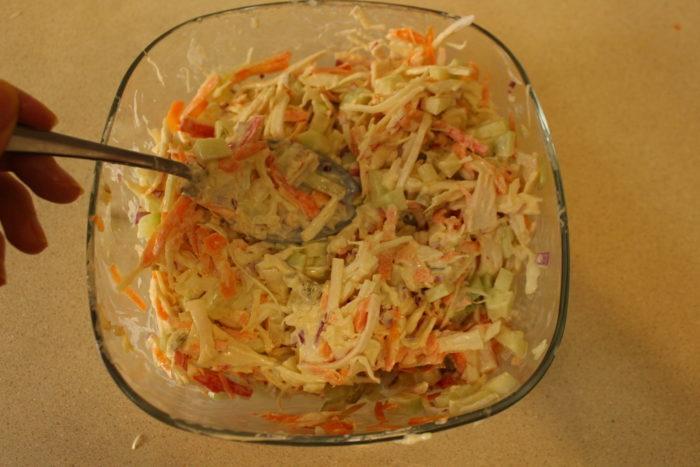 mayonesa para la ensalada de surimi