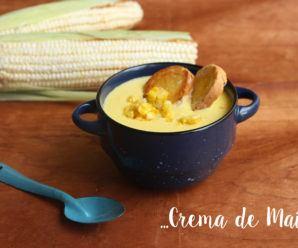 crema de maíz amarillo o elote