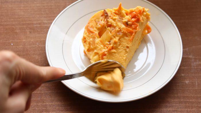 gelatina de zanahoria