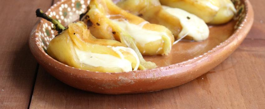 chiles rellenos de queso